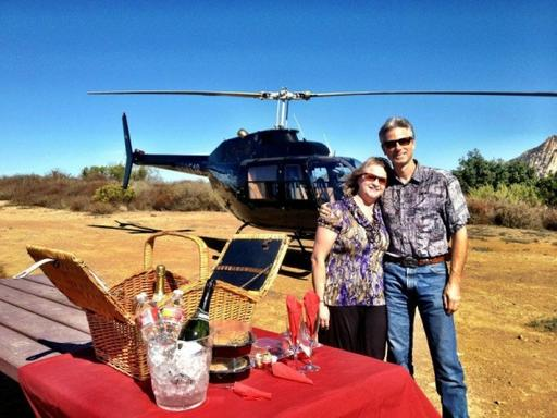 LA's Only Helicopter Mountain Top Landing Tour With Exclusive Options!