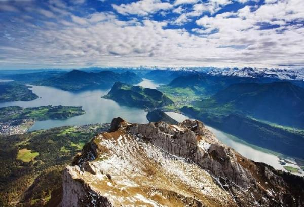 2-Day Mt. Pilatus and Mt. Titlis Tour**W/ Overnight Stay on Mt. Pilatus**