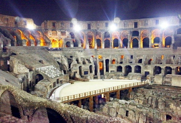 Rome Colosseum Night Tour - Underground Access