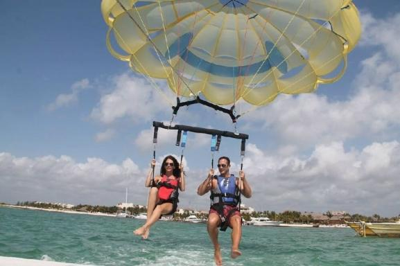 Reef Adventure and Parasailing Combo