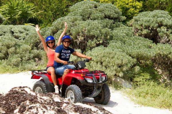 Paradise Adventure by ATV & Speed Boats