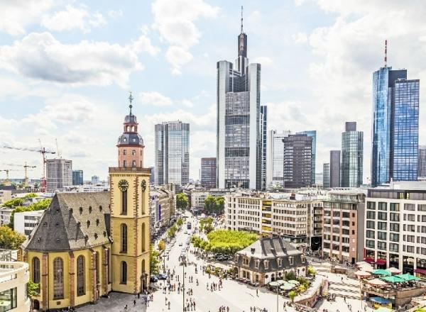 Frankfurt City Tour w/ Rhine River Cruise