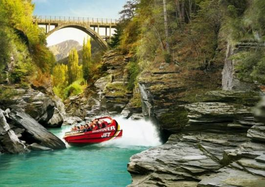 Shotover Jet Boat Adventure