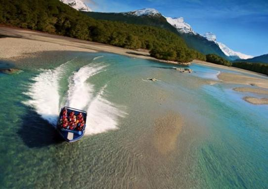 Dart River Wilderness Jet Boat