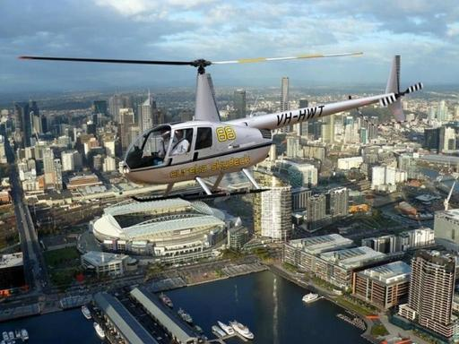 30 Min Scenic Melbourne Shared Helicopter Flight For 1