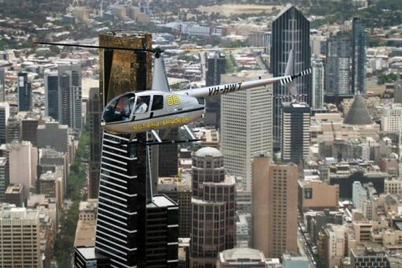 30 Min Melbourne VIP City and Coastal Private Sunset Flight For 2