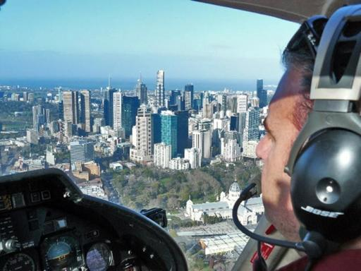 Melbourne City & Coast Luxury Jet Ranger Scenic Helicopter Private Flight For 4