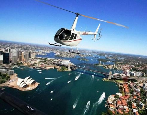 20 Min Sydney Harbour and Coast Scenic Helicopter Flight for 3