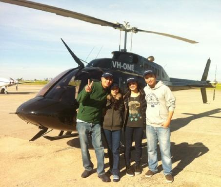 15 Min Melbourne Helicopter Family Fun Flight for 4