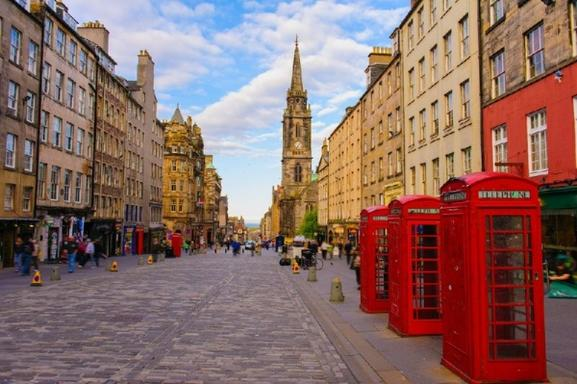 Edinburgh Guided Sightseeing Tour