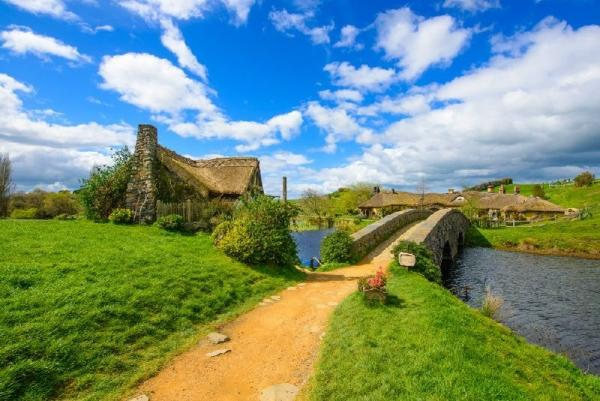 Black Labyrinth and Hobbiton Day Trip from Auckland