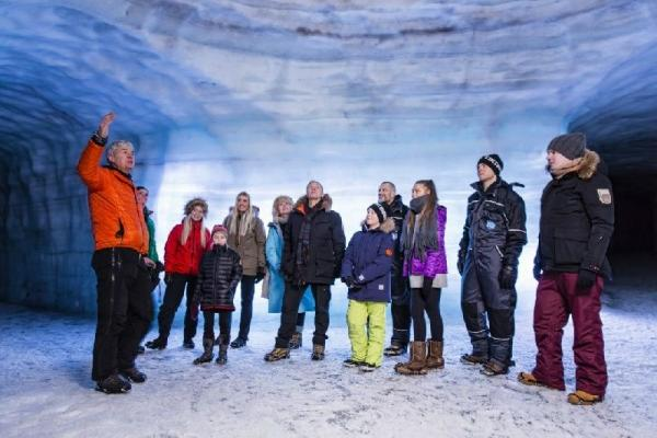 Into the Glacier and Golden Circle Day Tour