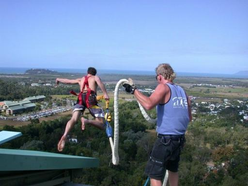 Cairns Bungy Jump and Minjin Swing Combo