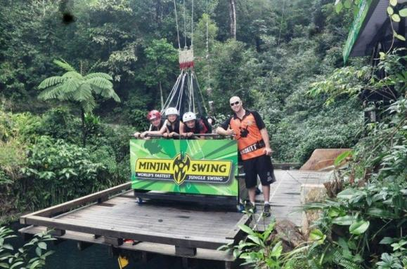 Cairns Minjin Jungle Swing