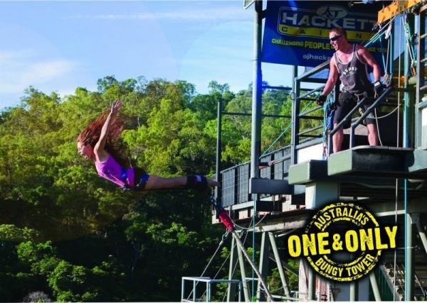 Ultimate Cairns Bungy Experience!**Unlimited Bungy Jumps**<br>** Minjin Swing Ride**
