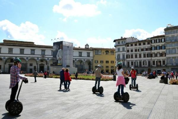 3-Hour Audio Guided Florence Segway Tour
