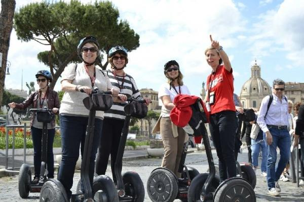 3-Hour Audio Guided Rome Segway Tour