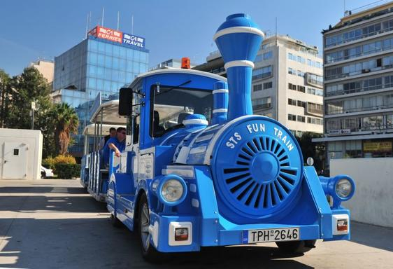 Piraeus Hop-on Hop-off Train