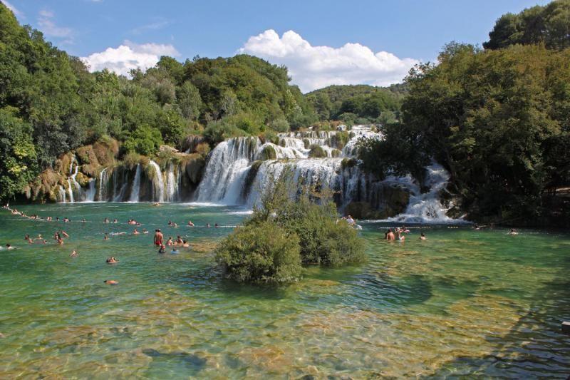 Krka National Park and Sibenik Tour from Split and Trogir