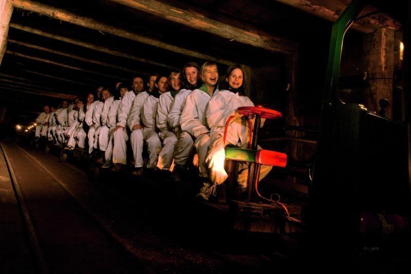 Salzburg Salt Mines Adventure Tour w/ Miner Train and Slide Activities