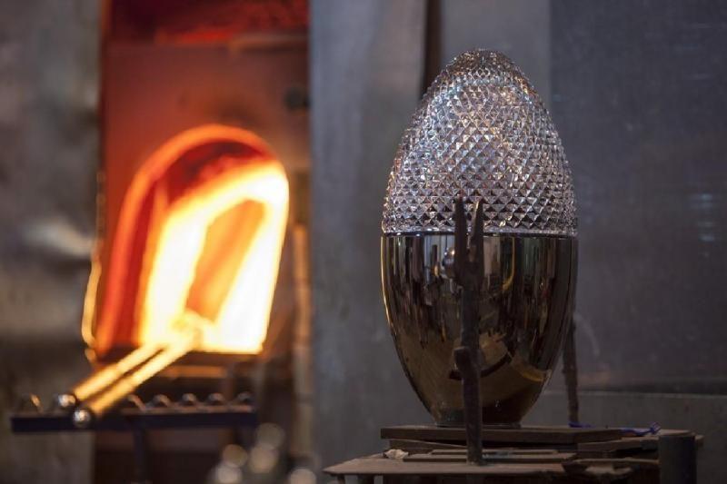 Rückl Crystal Glass Factory Tour in Nizbor