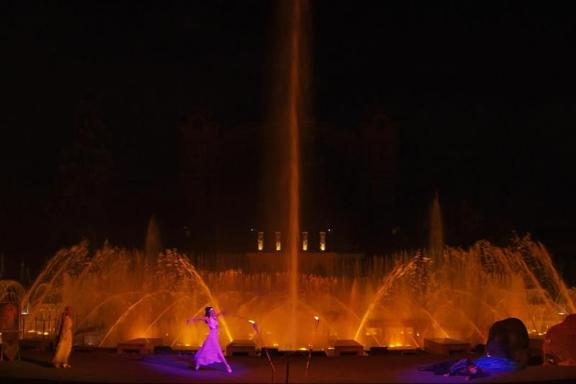 Prague Evening Tour by Night with Krizik's Music Fountain Performance