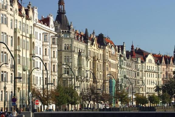 Vintage Car Tour of Prague