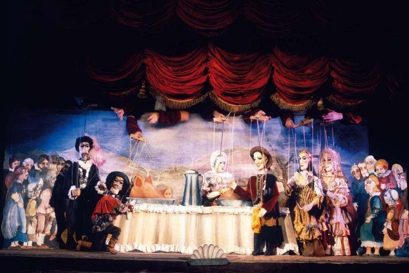 Opera Don Giovanni in Marionette Theatre