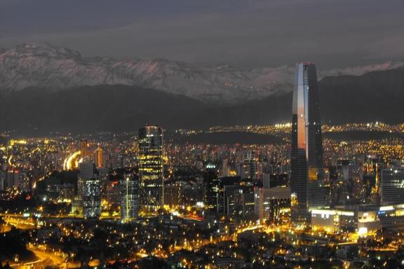 Santiago Sightseeing Tour by Night
