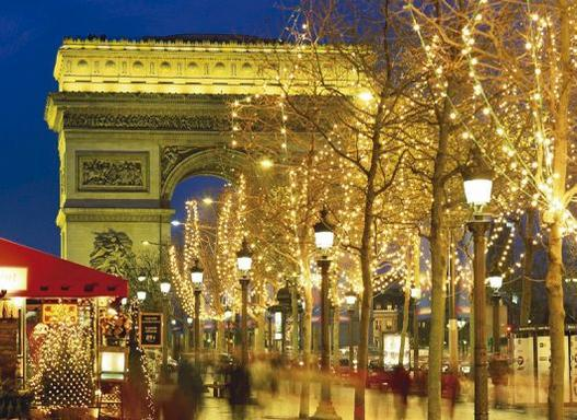 7-Day Christmas in Europe Tour: Paris - Swiss Alps - Rhine Valley - Amsterdam