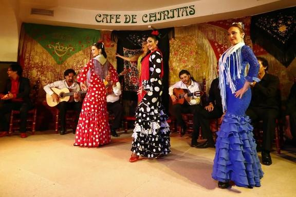 Madrid Night Tour and Cafe Chinitas Flamenco Show