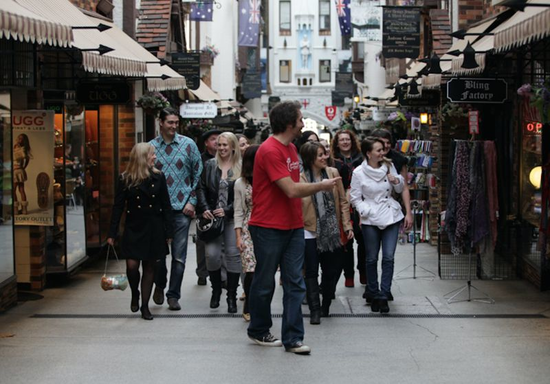 Perth Arcades and Laneways Tours