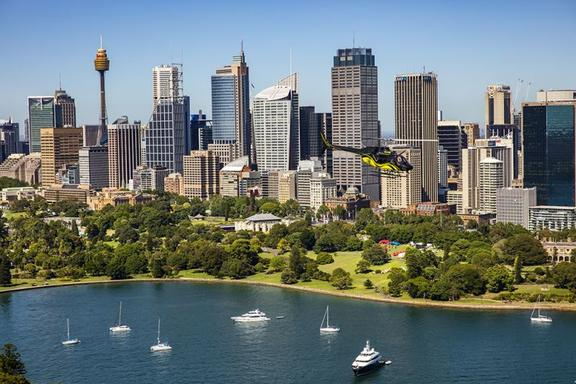 30 Min Sydney Private Helicopter Flight for 3