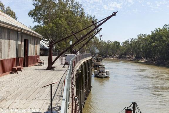 1-Hour Murray River Cruise aboard PS Emmylou