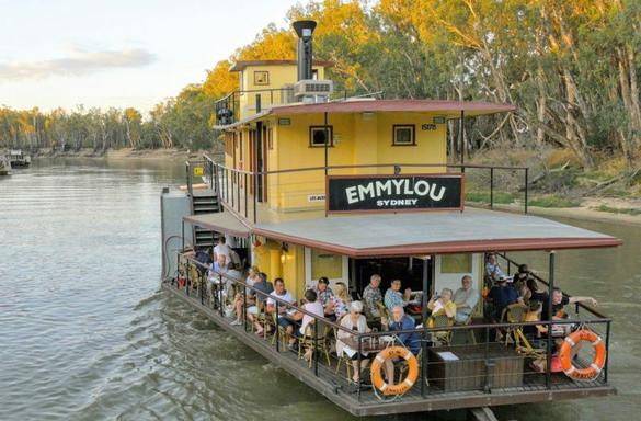2-Hour Murray River Cruise aboard PS Emmylou