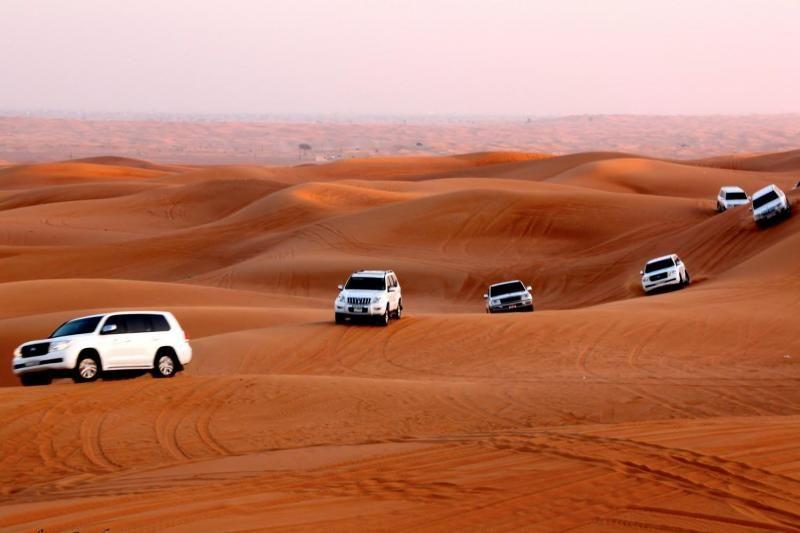 Evening Abu Dhabi Desert Safari W/ Dinner
