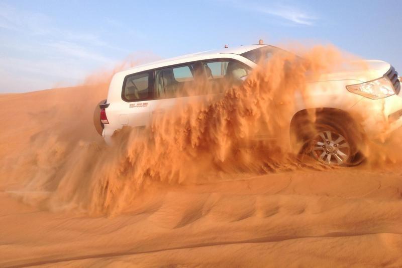 Evening Abu Dhabi Desert Safari W/ Dinner