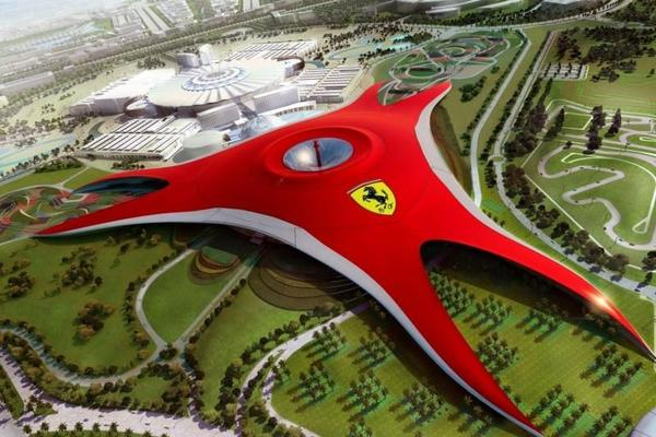 Day Trip to Ferrari World Abu Dhabi from Dubai