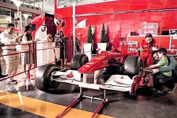 Day Trip to Ferrari World Abu Dhabi from Dubai