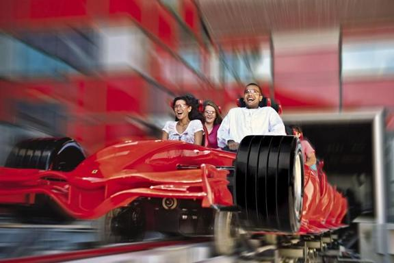 Ferrari World Abu Dhabi Ticket