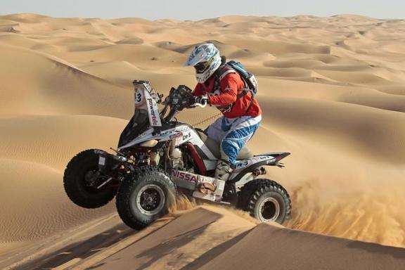 Dubai Desert Quad Bike Safari