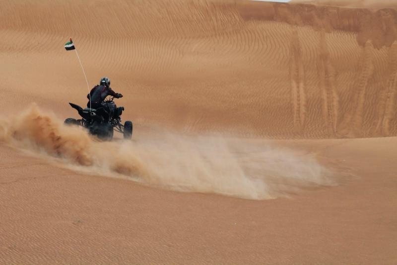 Dubai Desert Quad Bike Safari