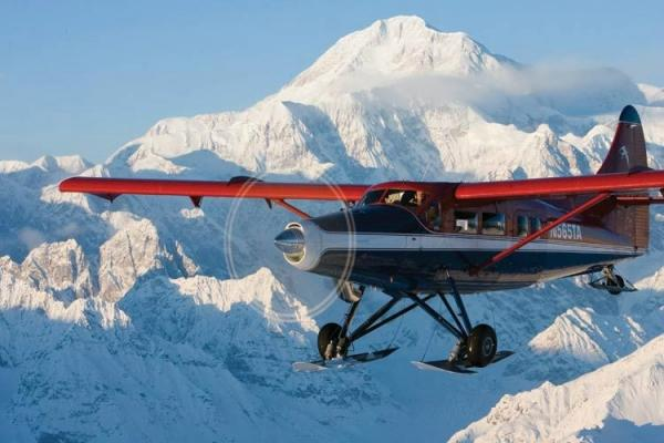 Denali Summit Flightseeing Tour W/ Glacier Landing