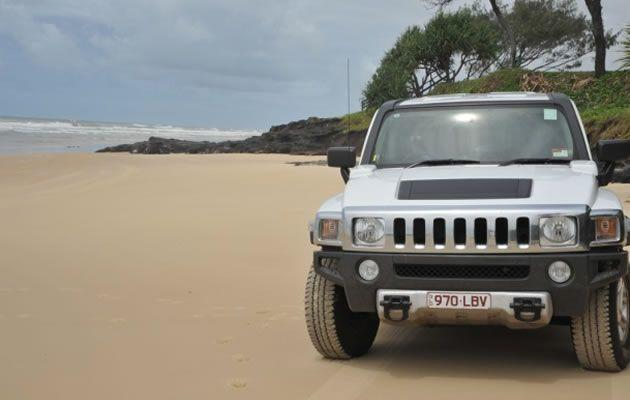 Fraser Island Hummer Tour and Whale Watching Package