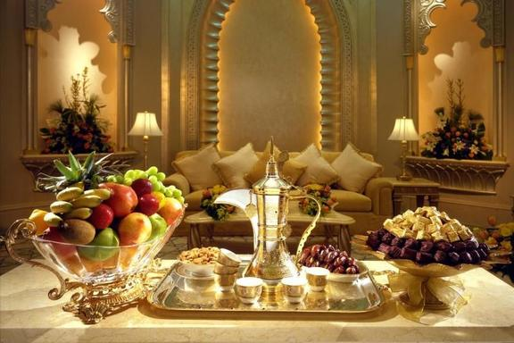 High Tea at Emirates Palace