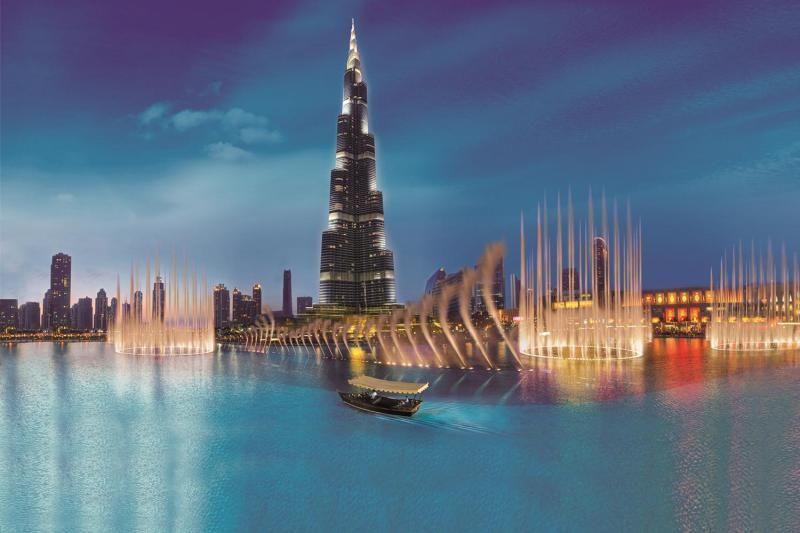 Dubai Full Day Tour with Lunch at  the Musical Fountains