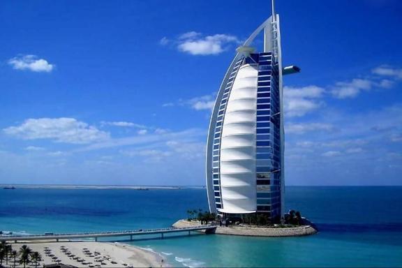 Dubai Tour From Abu Dhabi W/ Musical Fountains Lunch