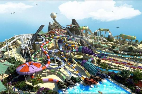 Ferrari Park or Yas Waterworld Ticket with Tranfsers