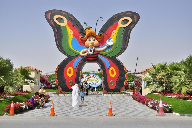 Dubai Butterfly Garden and Miracle Garden Tour