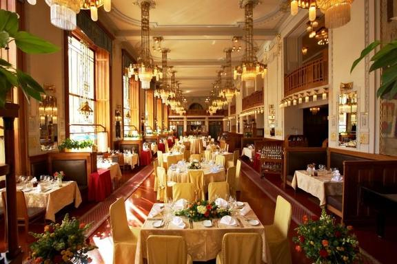 New Year's Eve Meal - Prague's Municipal House's French Restaurant